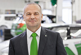 Michal Hrabánek, Head of ŠKODA Motorsport (photo)